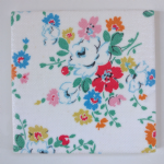 Ceramic Wall Tiles Made With Cath Kidston Clifton Rose White